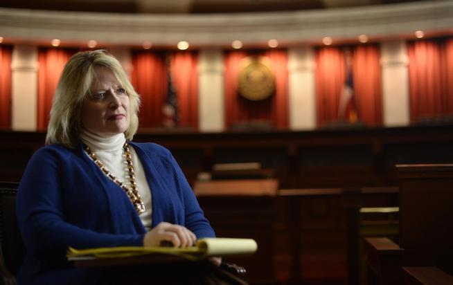Pictured: Colorado Attorney General Cynthia Coffman