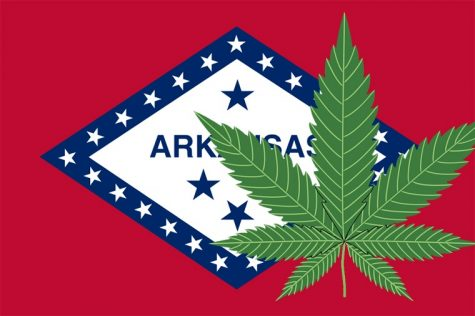 More than 24,000 pounds of medical cannabis has flown off Arkansas