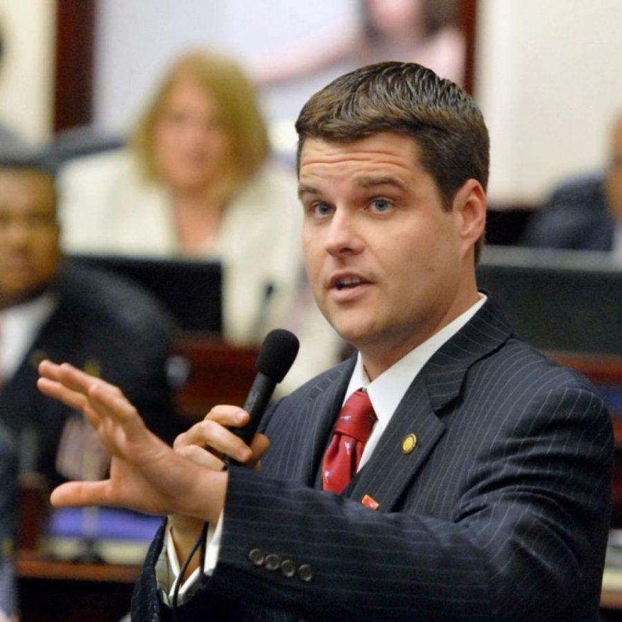 Pictured: Rep. Matt Gaetz, R-Florida