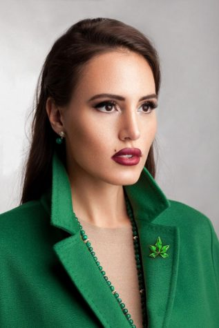 This ex-beauty queen is changing the world of cannabis blockchain technology