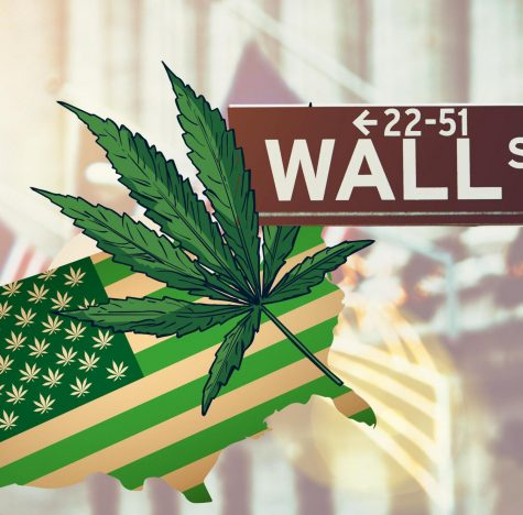 Weed and fizzy drinks are being eyed up on Wall Street