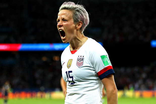 U.S. soccer star Megan Rapinoe's CBD brand advocates feminism and equal rights