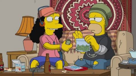 Marge snitches on Homer for drug dealing in new