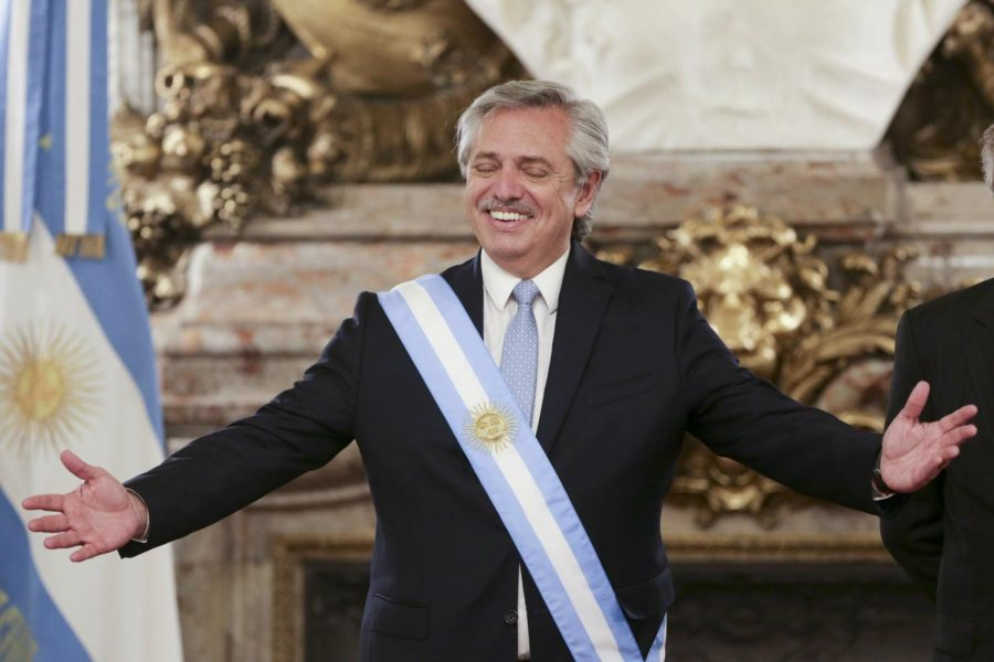 Argentinas president happily engages in debate about cannabis legalization